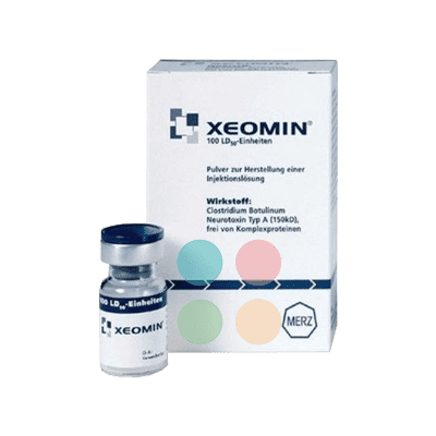 Xeomin 100U Non-English 1 vial