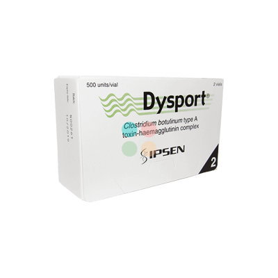 Dysport 500U 2 vials (2×500U)