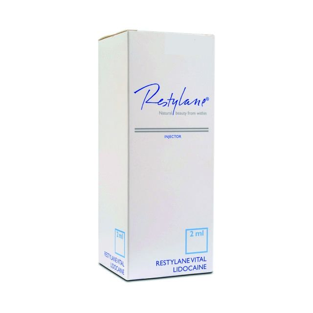 RESTYLANE VITAL LIGHT INJECTOR Lidocaine 2ml