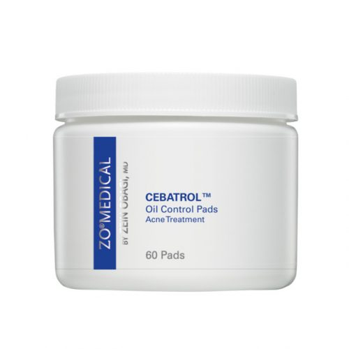 ZO CEBATROL Oil Control Pads, Acne Treatment 75mL
