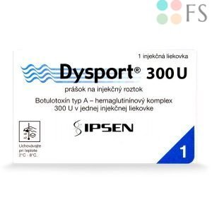 DYSPORT 300U Slovakia - Buy online on Filler Supplies