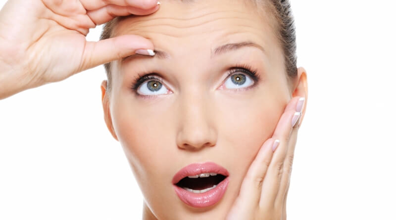 Remove wrinkles, using the blanching technique!