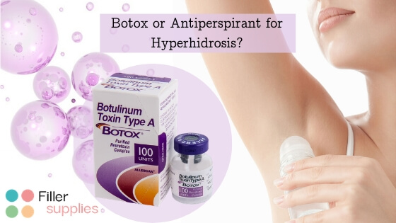 Botox for Sweating is Safer than Antiperspirant