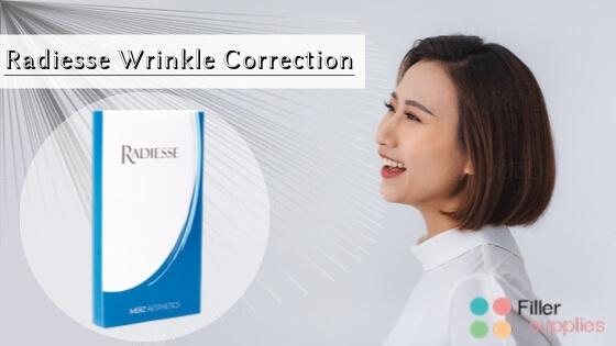 How does the RADIESSE wrinkle filler work?