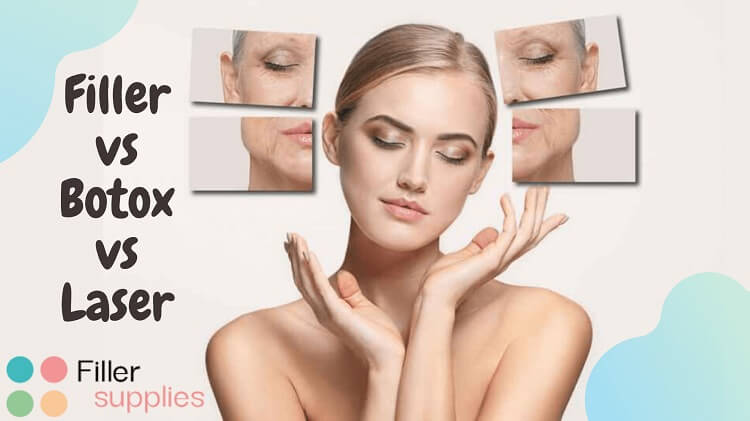 Filler vs. Botox vs. Laser for wrinkles