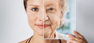 How does face changes with age?